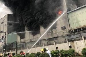 Thông tin thêm về vụ cháy lớn khu nhà xưởng công ty ở Bình Dương