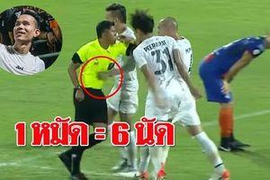 Quyết đấu Việt Nam ở King's Cup, Thái Lan hủy án phạt cầu thủ đấm trọng tài