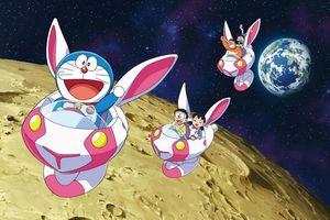 Gặp lại mèo máy Doraemon trong cuộc phiêu lưu trên Mặt trăng
