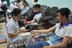 Hơn 600 người tham gia Ngày hội hiến máu nhân đạo SCTV năm 2019