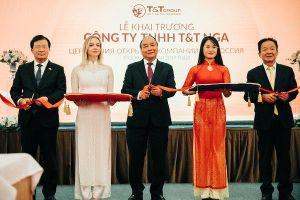 Tập đoàn T&T mở công ty tại Nga