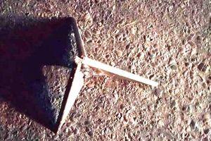 Truy tìm thủ phạm bẫy ô tô bằng chông sắt ba cạnh ở Thanh Hóa