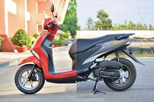 So sánh Yamaha Latte và FreeGo - đánh đổi tiện nghi lấy an toàn