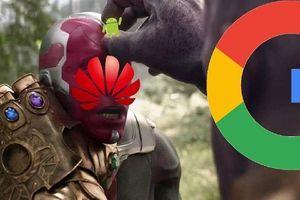 Thanos Google gỡ viên đá Android ra khỏi Huawei