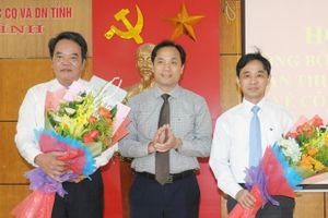 Nhân sự mới Hà Tĩnh, Thanh Hóa, Nghệ An
