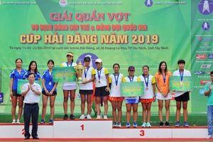 Đoàn Tây Ninh và TP Hồ Chí Minh giành chức vô địch đầy xứng đáng