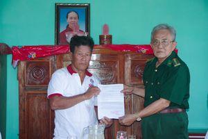 Bàn giao nhà 'Nghĩa tình đồng đội' cho cựu chiến binh