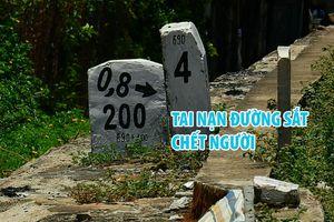 Tai nạn chết người ở điểm băng qua đường sắt gần ga Huế