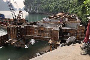 Tạm dừng các công trình thiếu giấy phép trong vùng lõi vịnh Hạ Long