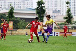 Mưa bàn thắng ngày khai màn giải bóng đá nữ Cúp Quốc gia