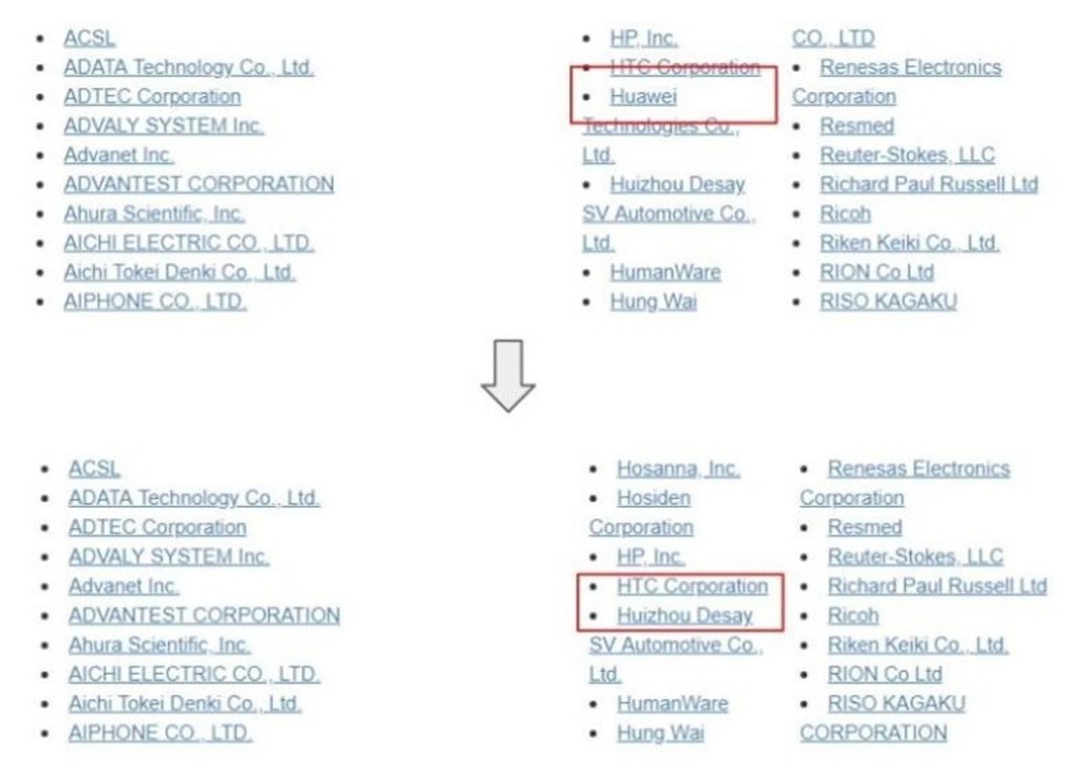Huawei bị Hiệp hội thẻ SD xóa tên hội viên?