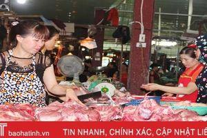 Người tiêu dùng Hà Tĩnh tin chọn thịt lợn qua kiểm dịch, rõ nguồn gốc