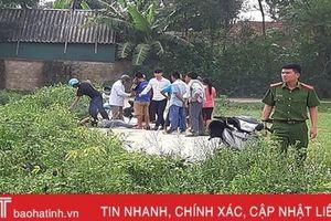 Phát hiện nam thanh niên tử vong bên đường ở Hương Khê