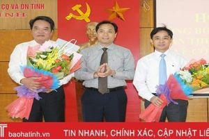 Nguyên Bí thư Thị ủy Kỳ Anh giữ chức Bí thư Đảng ủy Khối CCQ&DN Hà Tĩnh