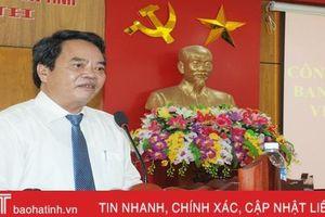 Ông Nguyễn Đình Hải giữ chức Bí thư Đảng ủy Khối CCQ&DN Hà Tĩnh
