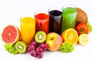 Cẩn thận với nước ép trái cây nhiều đường