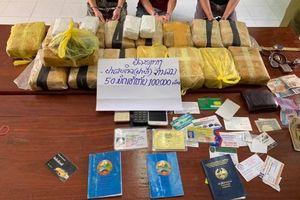 Bắt giữ 100.000 viên ma túy tổng hợp gần khu vực biên giới