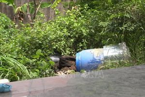 Vụ thi thể 'bị đổ bê tông' trong thùng nhựa: Khởi tố bị can, bắt tạm giam 4 đối tượng