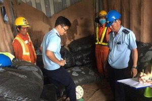 Thu giữ 5 tấn vảy tê tê đội lốt hạt điều giấu trong container
