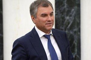 Chủ tịch Duma Quốc gia Nga: Sẽ thảo luận việc bãi bỏ thị thực với Việt Nam