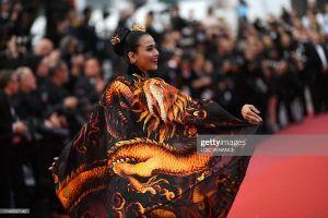 Không 'hở bạo' như Ngọc Trinh, Trương Thị May mang quyền lực rồng châu Á tỏa sáng tại Cannes 2019