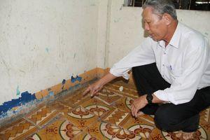 Thừa Thiên Huế: Dự án môi trường gây nứt nhà dân, nhưng đền bù không thỏa đáng