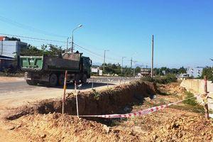 Đà Nẵng: Ngổn ngang công trình nút giao Túy Loan