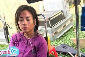 Nhân dịp Hai Phương 'lên kệ' Netflix, Ngô Thanh Vân chia sẻ tấm ảnh hậu trường phải thở oxy khiến fans xót xa