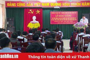 Huyện Quan Sơn: Khai giảng lớp dự nguồn Ban Chấp hành Đảng bộ huyện và các chức danh lãnh đạo chủ chốt