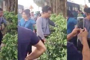Người đàn ông bị tố 'sàm sỡ' phụ nữ trên xe buýt tại Hà Nội
