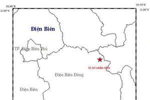 Điện Biên: Lại xảy ra một trận động đất và một dư chấn động đất