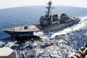 2 tàu hải quân Mỹ vừa đi qua eo biển Đài Loan nhạy cảm