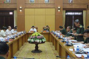 Tiểu ban Văn kiện Đại hội XIII làm việc với Quân ủy Trung ương