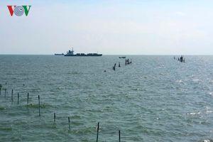 Phát hiện ngư dân xây dựng đăng đáy trái phép trên biển Vũng Tàu