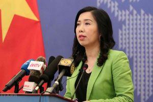 Căng thẳng thương mại Mỹ - Trung: Bộ Ngoại giao Việt Nam lên tiếng