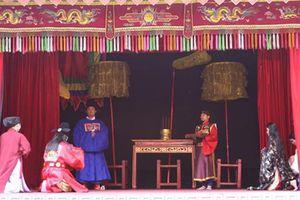 Tái hiện Lễ ban quạt trong cung đình thời Lê Trung Hưng
