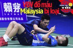 VĐV đổ máu, Malaysia bị loại; CLB Hà Nội bại trận
