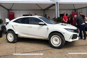 Honda Civic Type R phiên bản nâng gầm cho dân off-road sẽ thế nào?