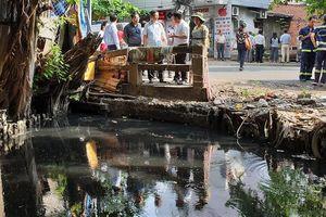 Dự án cải tạo rạch ô nhiễm nhất Sài Gòn 17 năm vẫn nằm trên giấy