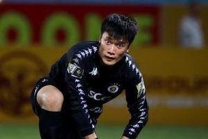 Bùi Tiến Dũng 2 lần chôn chân trong trận thua của CLB Hà Nội