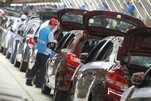Xuất khẩu ô-tô của Thái-lan giảm mạnh nhất trong hai năm
