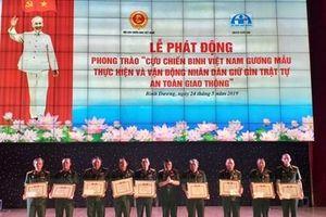 Phát huy vai trò cựu chiến binh trong giữ gìn TTATGT