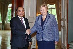 Thủ tướng Nguyễn Xuân Phúc hội đàm, hội kiến với Nhà vua và Thủ tướng Na Uy