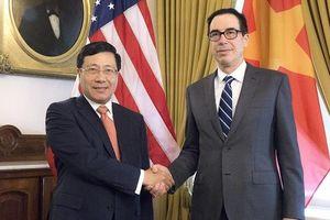 Hoạt động của Phó Thủ tướng, Bộ trưởng Ngoại giao Phạm Bình Minh tại Hoa Kỳ