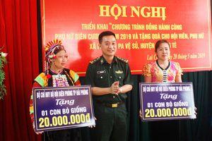 Triển khai chương trình 'Đồng hành cùng phụ nữ biên cương' tại địa bàn biên giới tỉnh Lai Châu
