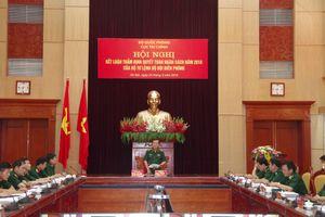Kết luận thẩm định quyết toán ngân sách năm 2018 của Bộ Tư lệnh BĐBP