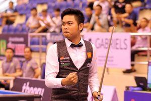 Nguyễn Trần Thanh Tự tiếp tục tạo 'cơn địa chấn' giải billiards 3 băng World Cup TP.HCM