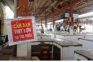Thanh Hóa: Dân bức xúc vì chính quyền cấm bán thịt lợn tại chợ
