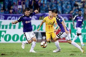 Đá sớm vòng 11 V-League: Hà Nội cẩn thận sân khách