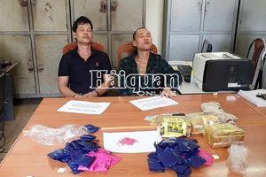 Hải quan Chiềng Khương phối hợp bắt 11.600 viên hồng phiến, 3 kg ma túy đá